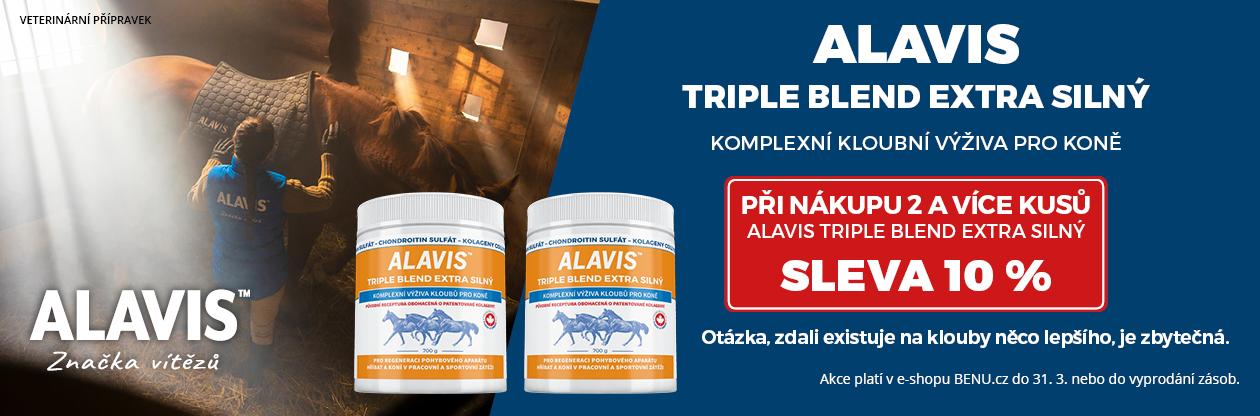 Alavis Triple blend Extra silný sleva 10 % při koupi 2 kusů