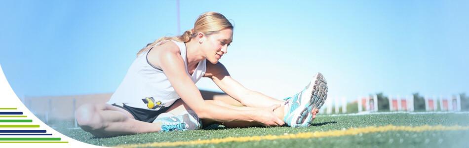 Co na natažený sval