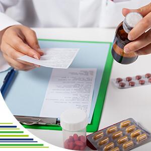 Příprava léků v lékárně