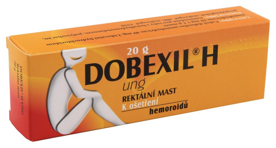 DOBEXIL H UNG 40MG 20MG rektální UNG 1X20G I  1d9f1337df