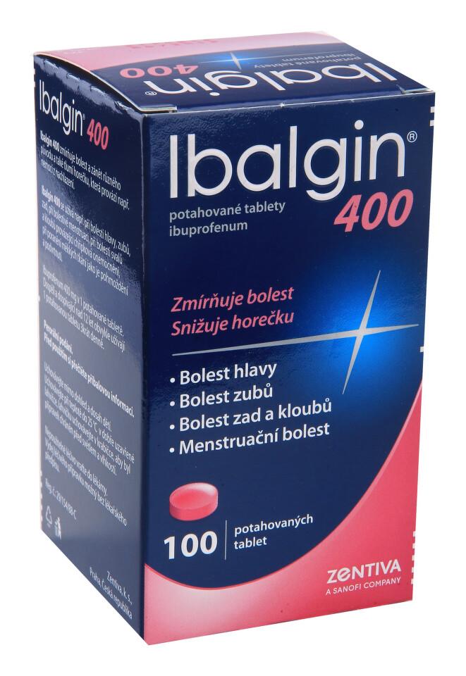 IBALGIN 400 perorální potahované tablety 100X400MG