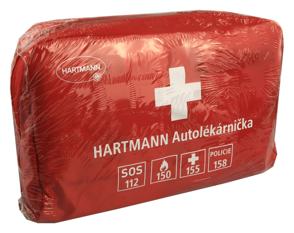 Autolékárnička HARTMANN červená