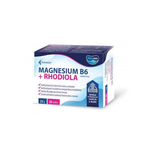 Magnesium B6 + Rhodiola tbl.30 obd.