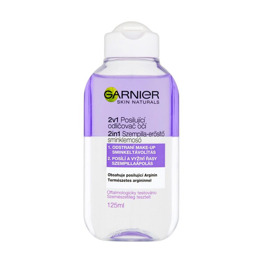 Garnier Skin Naturals posilující odličovač očí 2v1 125ml
