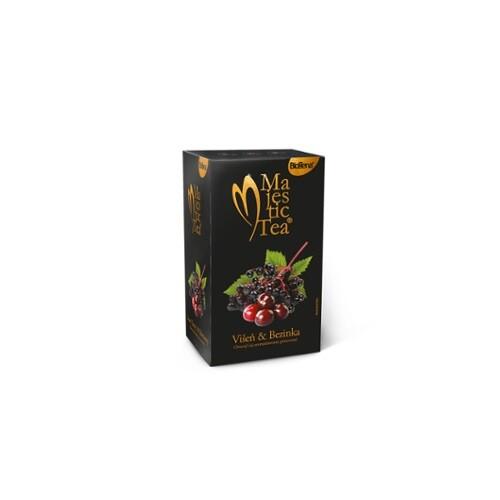 Čaj Majestic Tea Višeň&Bezinka 20x2.5g