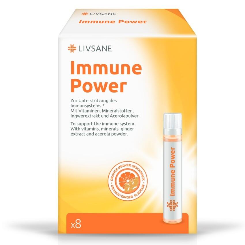 LIVSANE Vitaminy ampule Imunitní síla 22.5ml 8ks