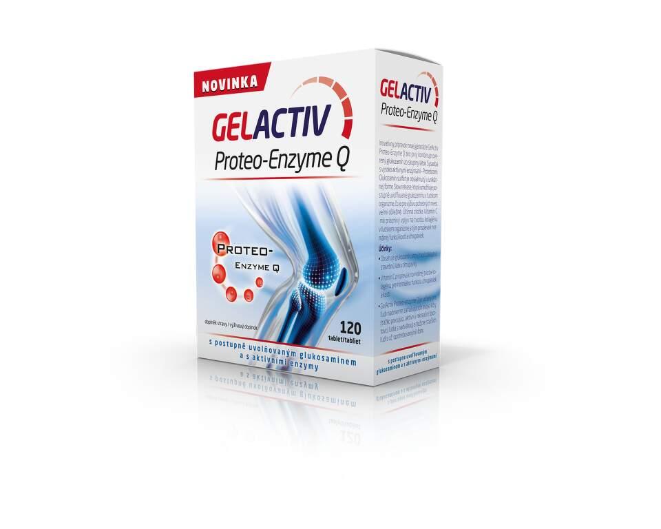 SALUTEM PHARMA GelActiv Proteo-Enzyme Q tbl.120 CZE+SLO