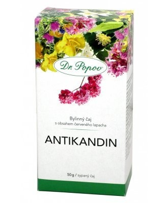 Dr.Popov Čaj Antikandin 50g