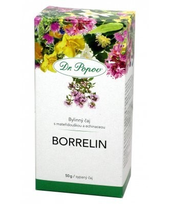 Čaj Borrelin Dr.Popov 50g MEKKA