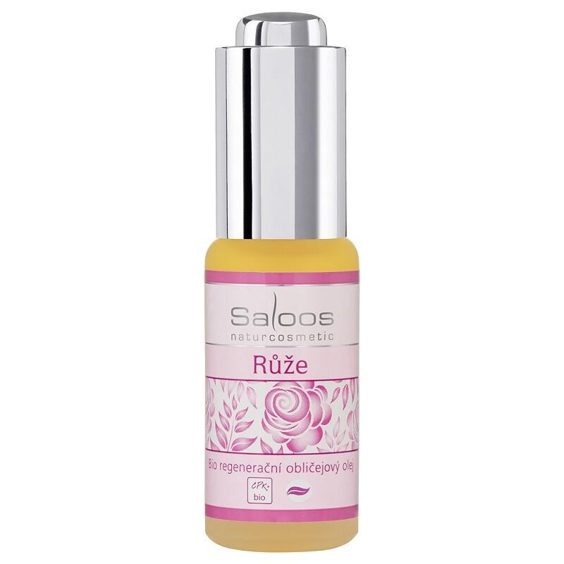 Saloos Bio regener.obličejový olej Růže 20 ml