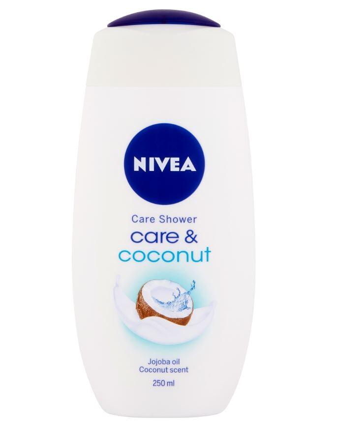 NIVEA Sprchový gel Care&Coconut 250ml. č.83606
