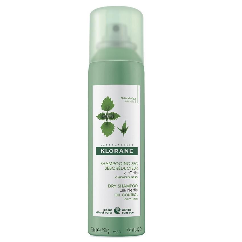 KLORANE Suchý šampon kopřiva 150ml