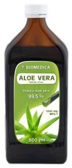 Aloe vera BIOMEDICA přírodní šťáva 99.5% 500ml