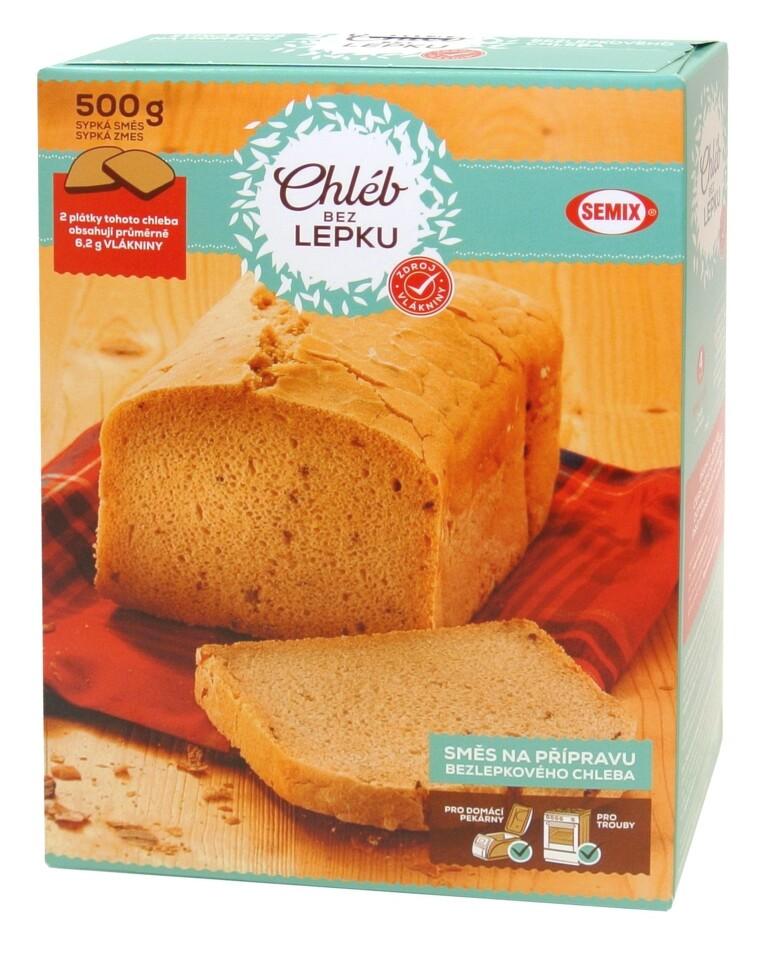 Bezlepkový chleba 500g