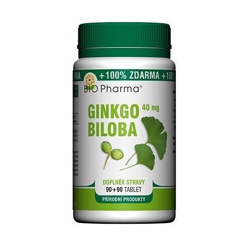 Ginkgo Biloba 40mg tbl.90+90 Bio-Pharma