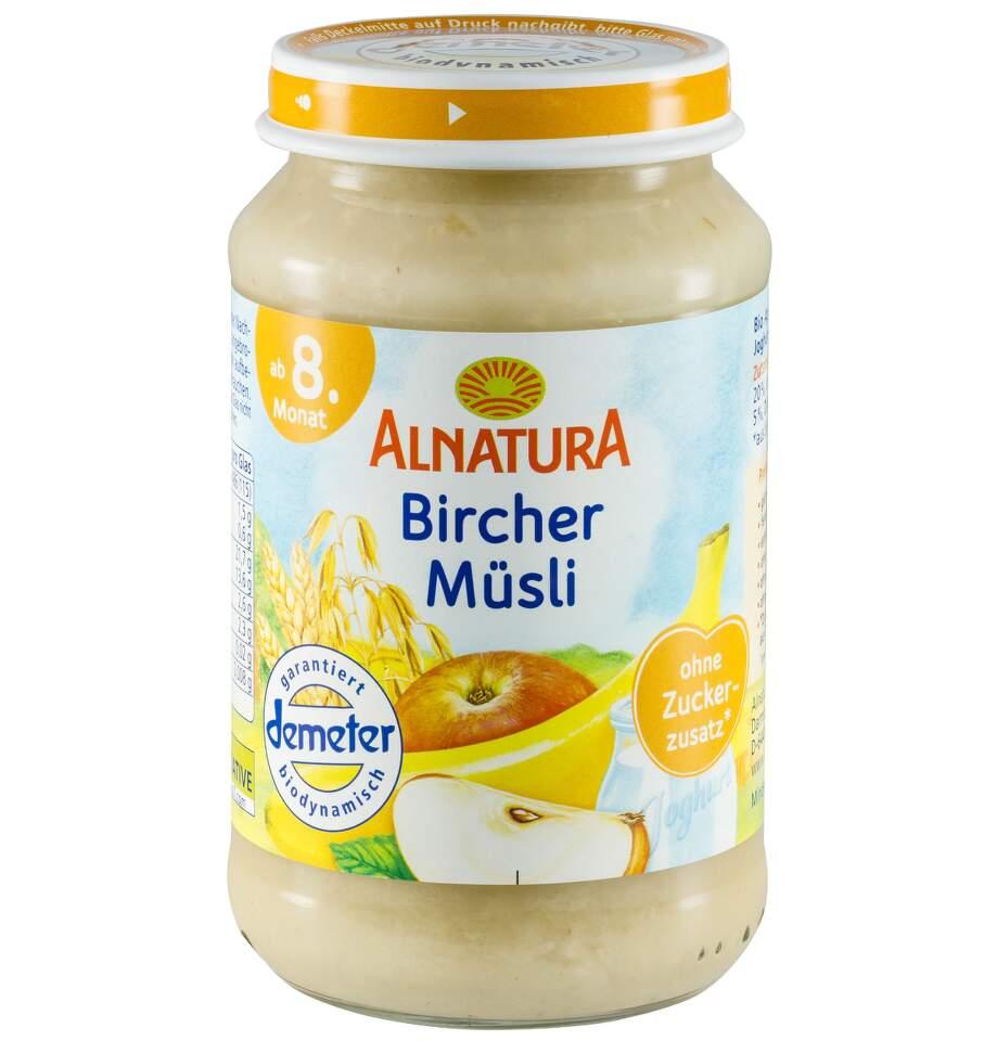 Alnatura Bircher müsli dětská výživa 190g 8M