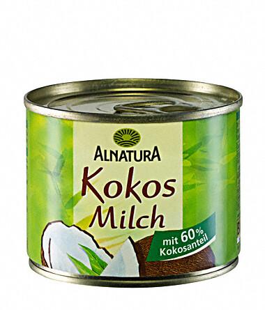Alnatura Kokosové mléko 200ml