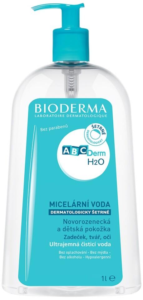 BIODERMA ABCDerm H2O micelární roztok 1l