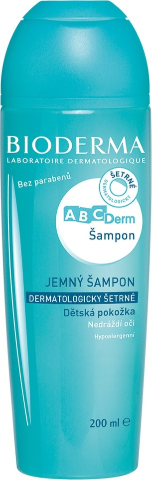 BIODERMA ABCDerm Šampon 200 ml