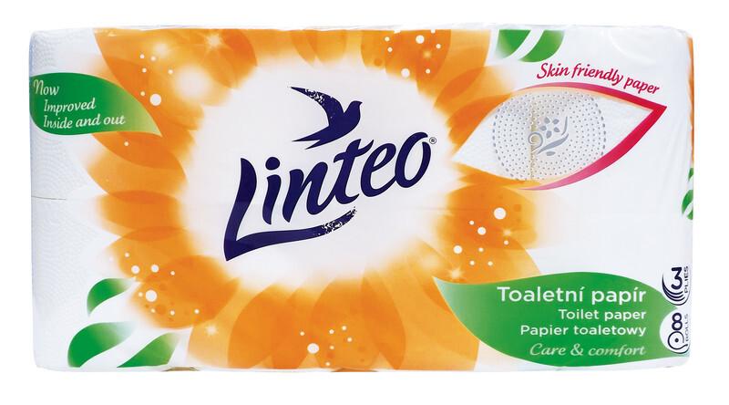 Toaletní papír LINTEO 3 vrst. 8ks