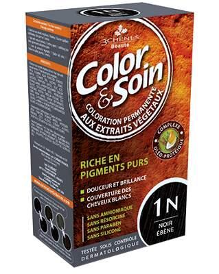 Barva a Péče 1N - Ebenová černá 135ml