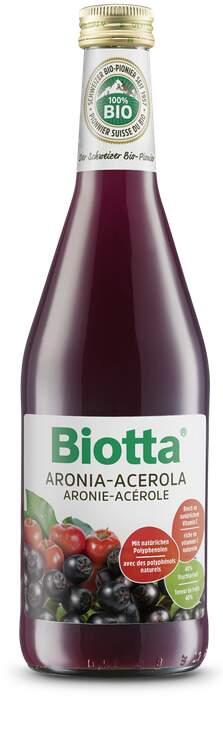 Biotta Aronie-Acerola Bio 500 ml