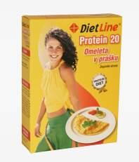 DietLine Protein 20 Omeleta v prášku 3 sáčky