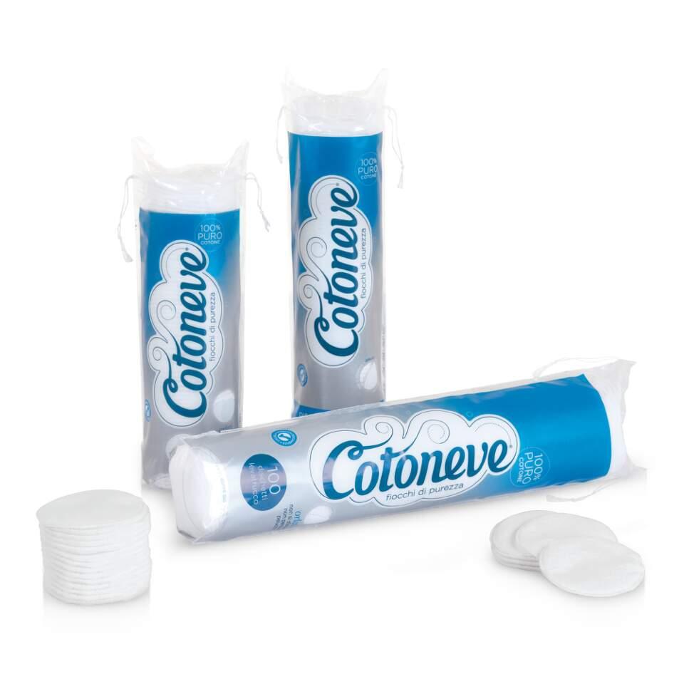 Kosmetic.tampóny odlič.80ks Cotoneve (bavlna)