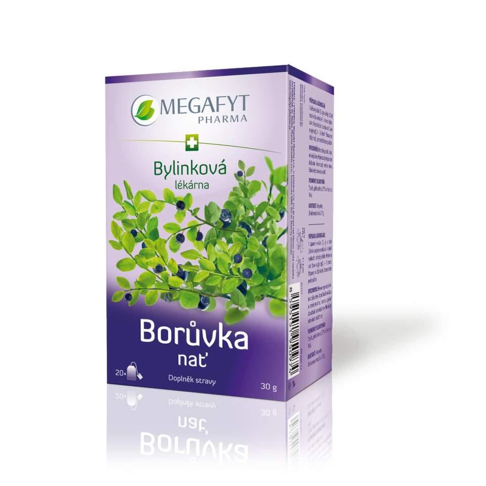 Megafyt Bylinková lékárna Borůvka nať 20x1.5g