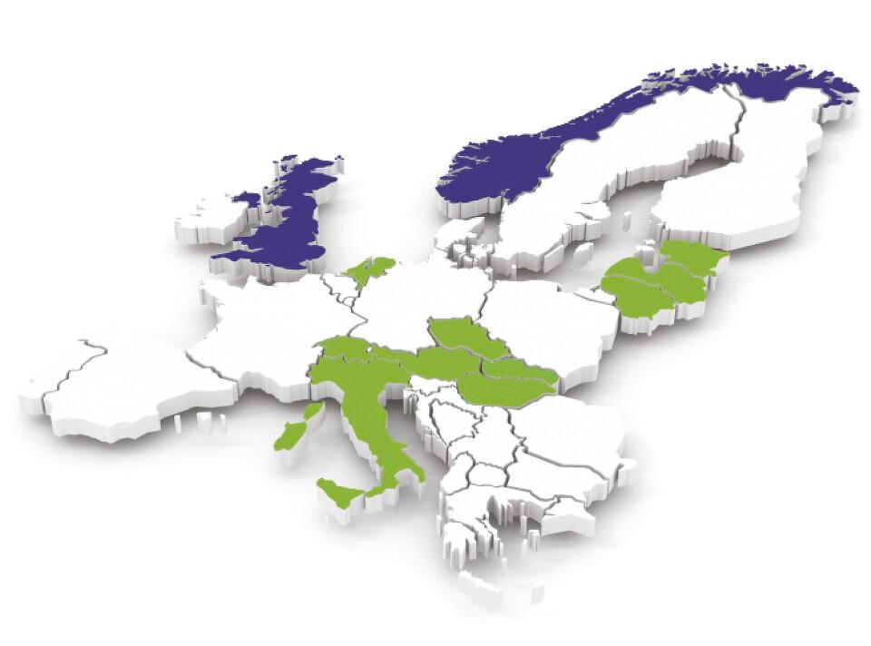Lékárny BENU v Evropě
