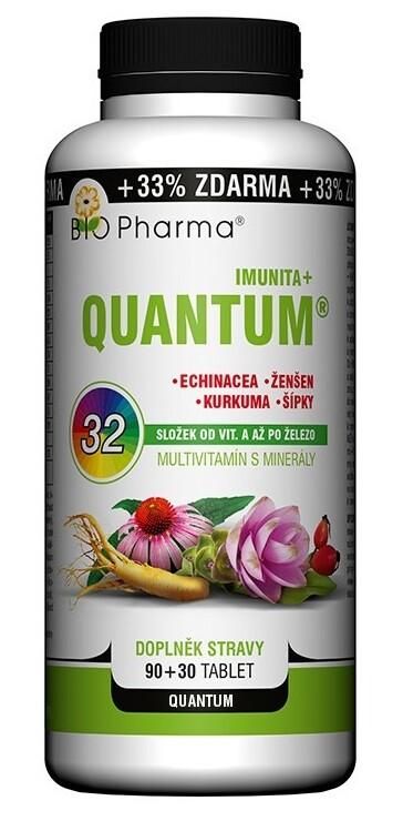 QUANTUM Imunita+ 32 složek tbl.90+30 BIO-Pharma
