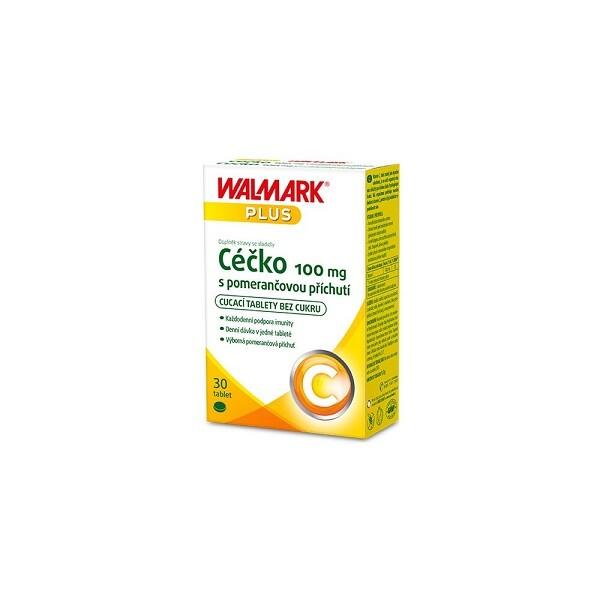 Walmark Céčko 100mg pomeranč tab.30
