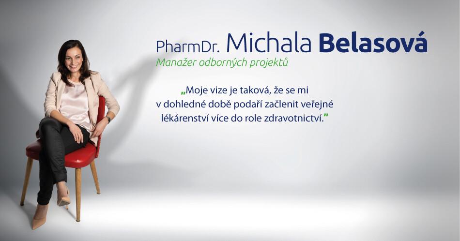 PHARMDR. MICHALA BELASOVÁ