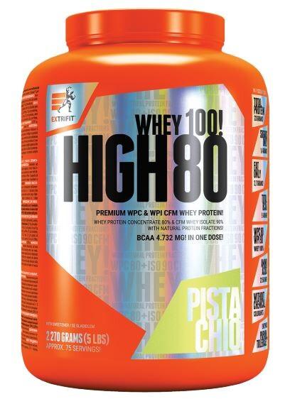 EXTRIFIT High Whey 80 1000g Pistácie