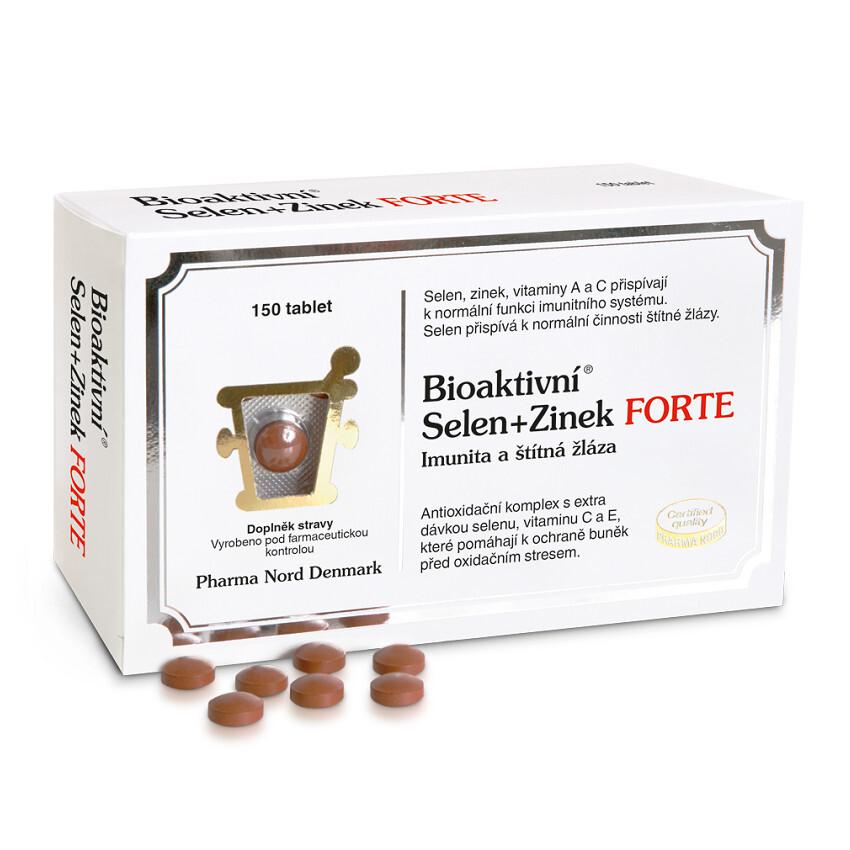 Bioaktivní Selen+Zinek FORTE tbl.150