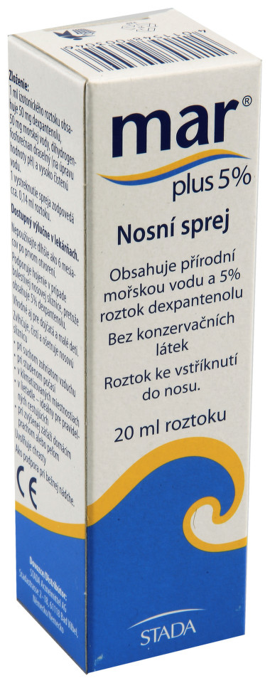 MAR Plus Nasenspray 20ml moř.voda s dexpanth.