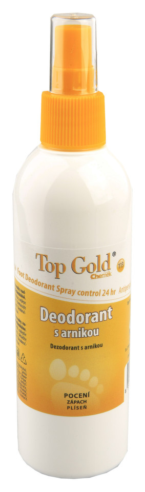 TOP GOLD Deo.s arnikou+Tea Tree Oil 150g