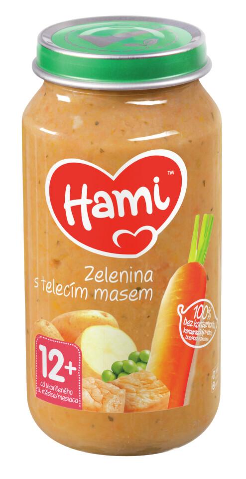 Hami příkrm roláda.zel. telecí maso 250g 12M