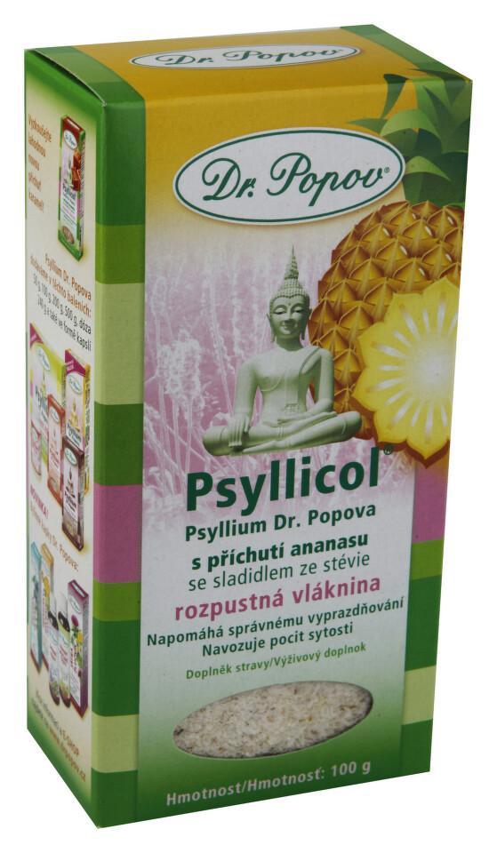 Dr.Popov Psyllicol příchuť ananas 100g