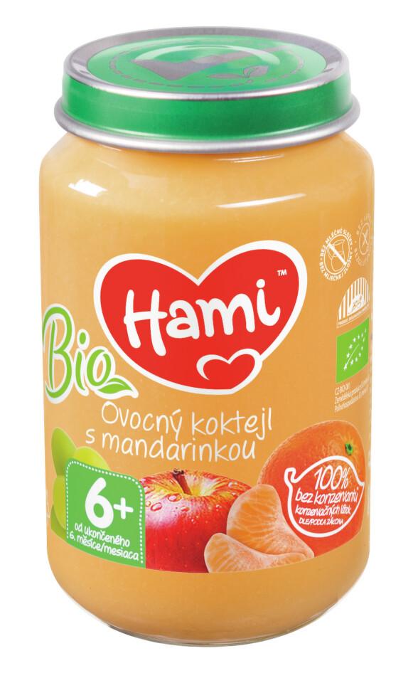 Hami ov. příkrm BIO ovoc.koktejl s mandar. 200g 6M