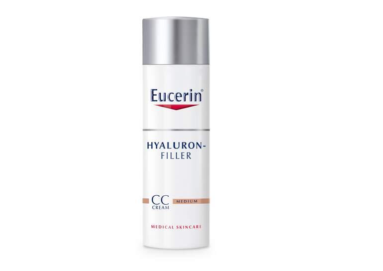 EUCERIN HYALURON FILLER CC krém středně tmavý 50ml