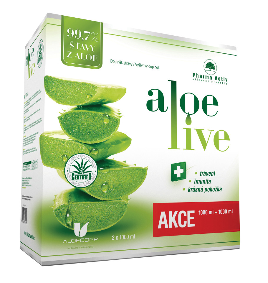 Pharma Activ AloeLive 1+1 1000 ml