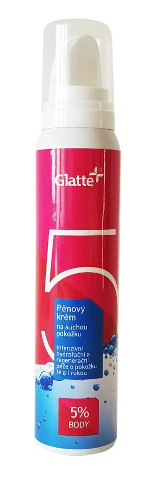 Glatte Body 5% pěnový krém na tělo 125 ml