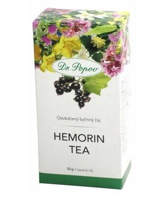 Čaj Hemorin tea Dr.Popov 50g MEKKA
