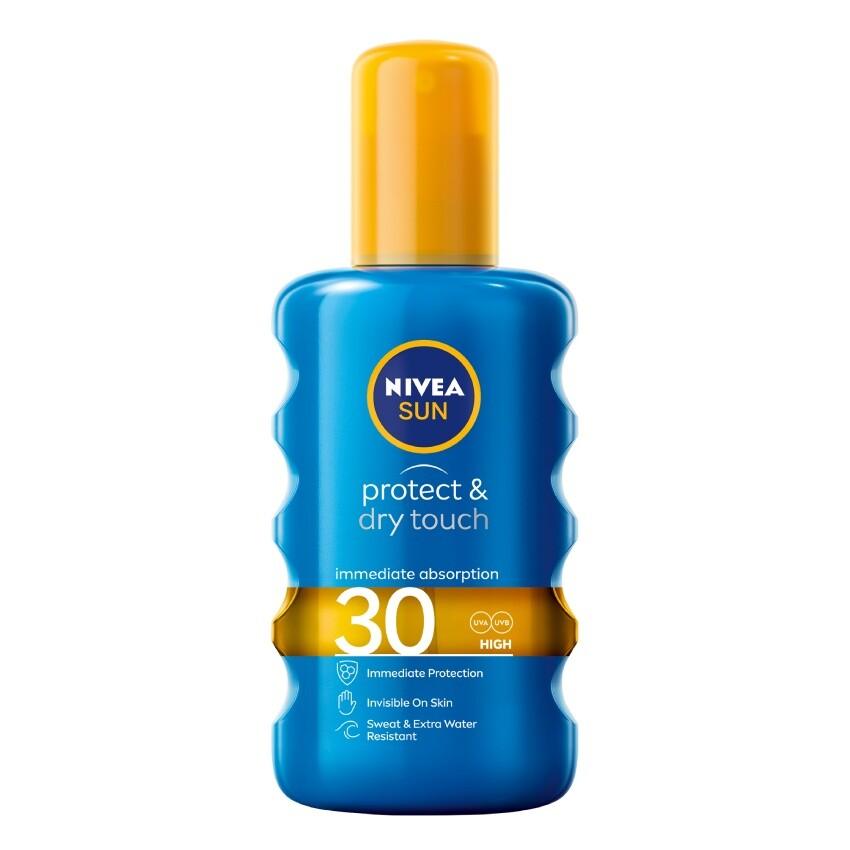 NIVEA SUN Nev.sprej opal. Protect&Refr. OF30 200ml