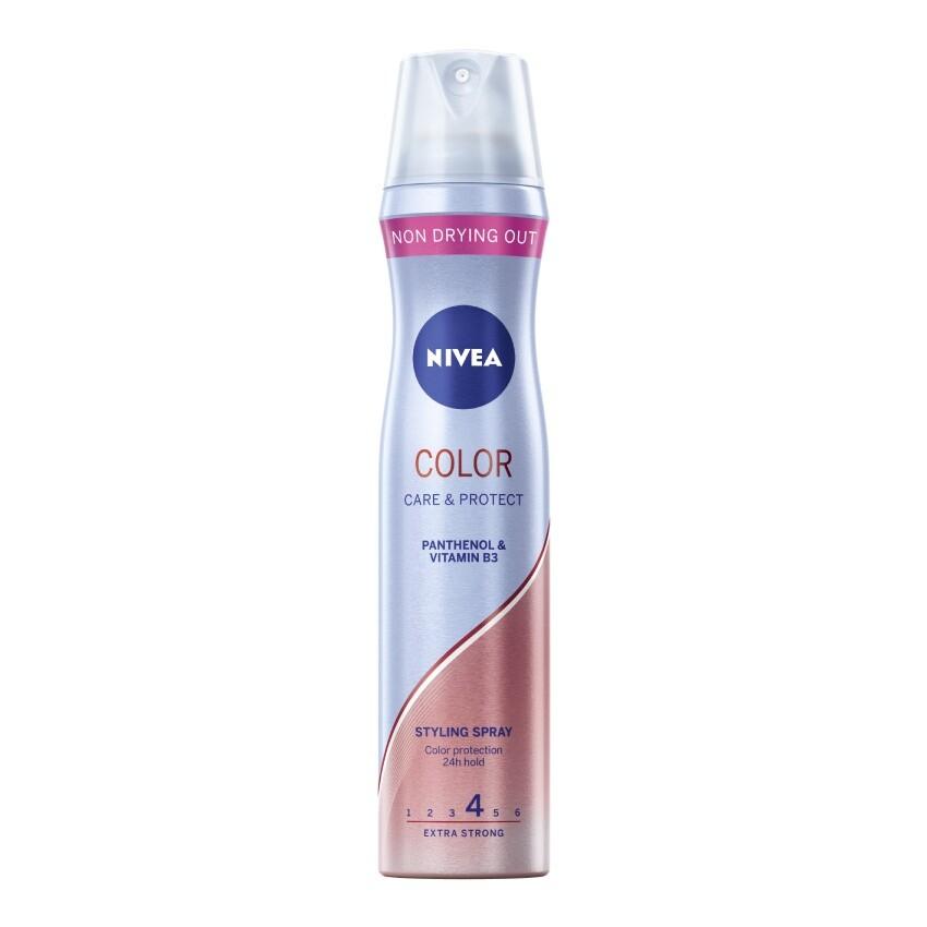 NIVEA lak na vlasy pro zářivou barvu 250ml 86805