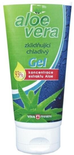 Vivapharm Aloe Vera 93% gel chladivý 75 ml