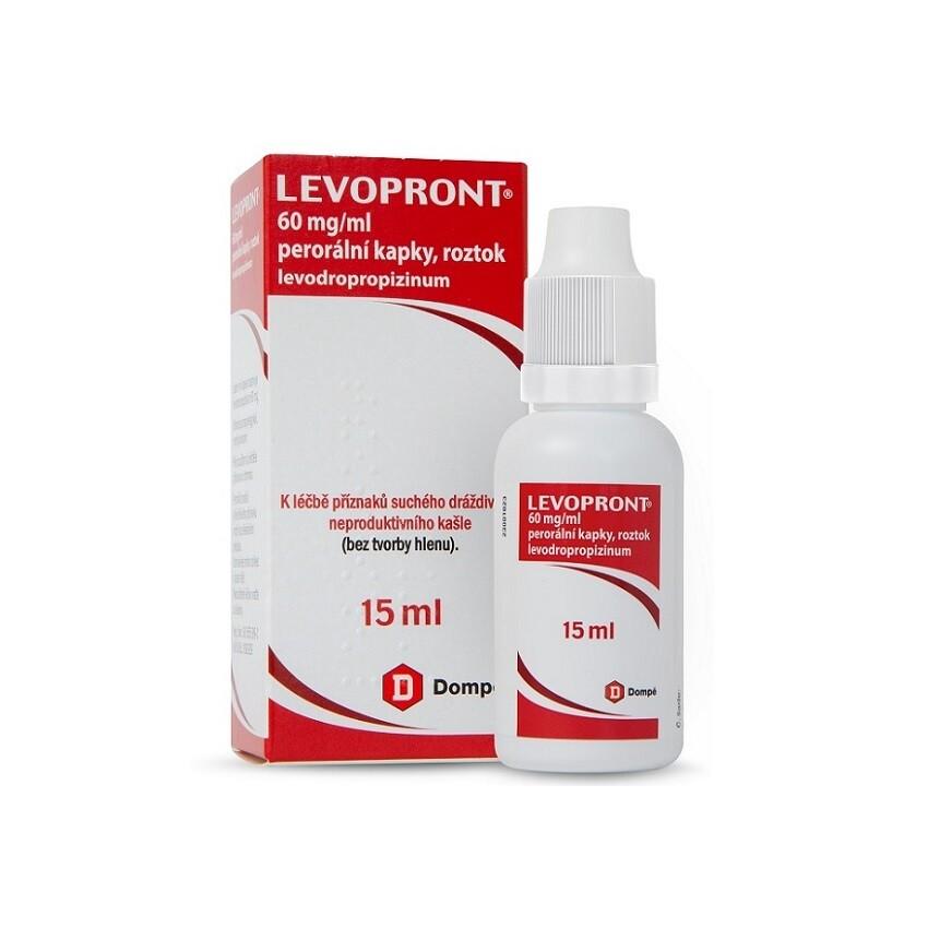 LEVOPRONT KAPKY 60MG/ML perorální GTT SOL 15ML II