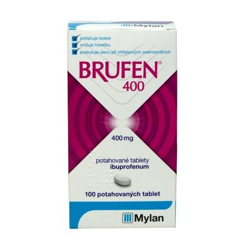 BRUFEN 400 400MG potahované tablety 100