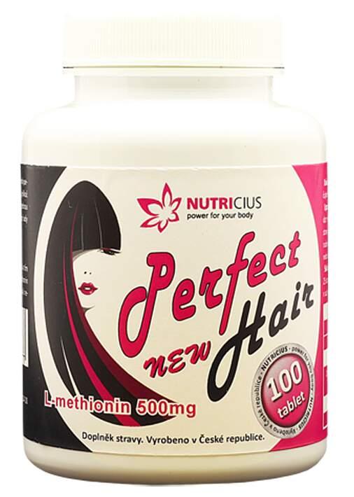 Perfect Hair new-methionin 500mg 100 tablet